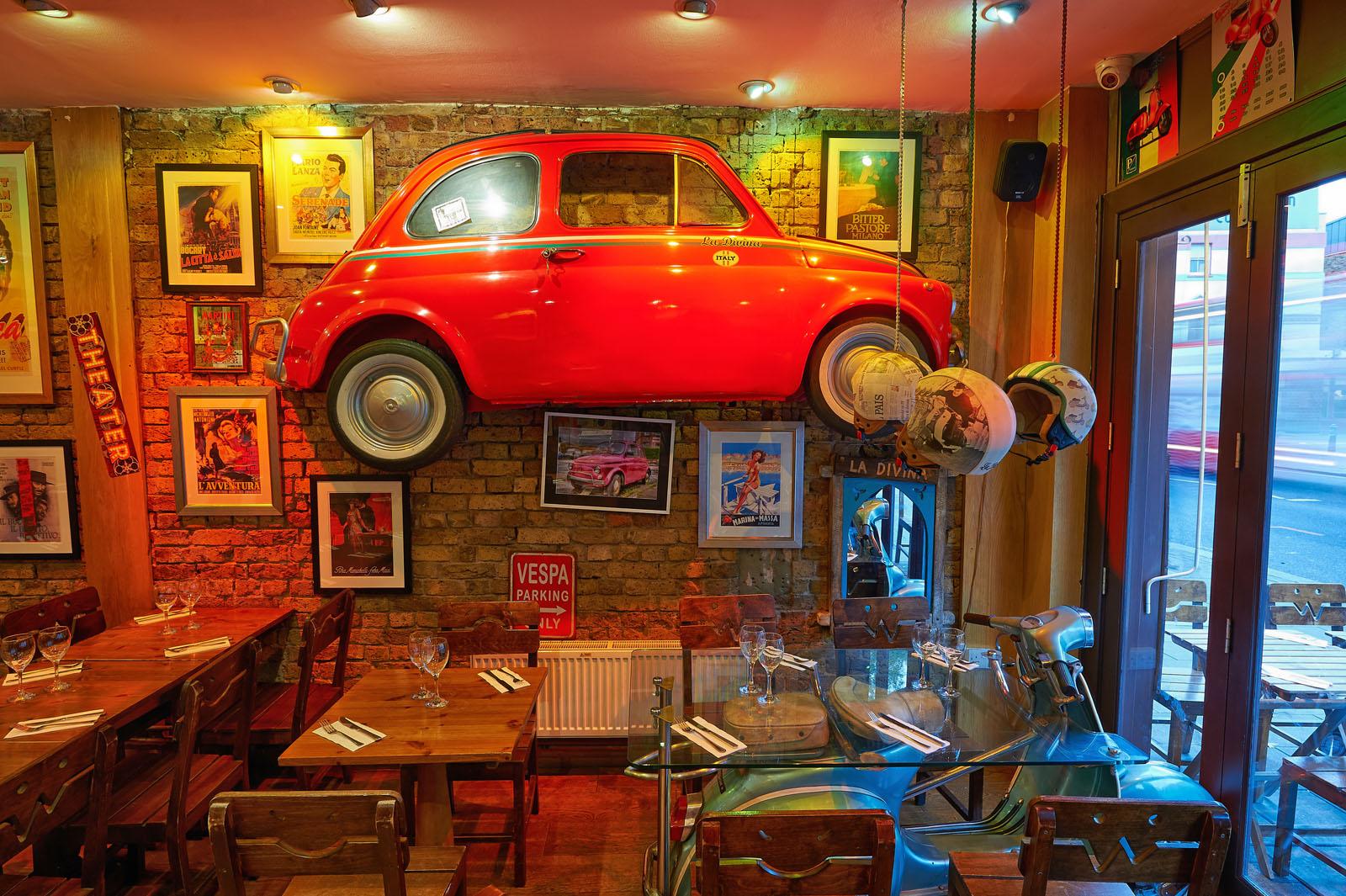Cafe La Divina Menu
